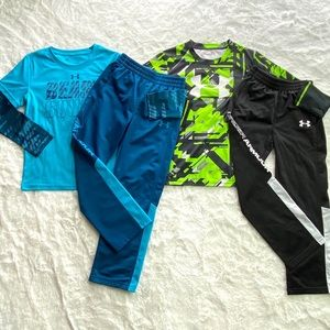 Under Armour Matching Set Long Sleeve/Pant Bundle